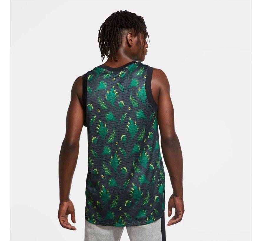 Nigeria Bball Top Green/Black