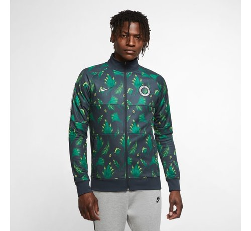 Nike Nigeria Anthem Track Jacket Green/black