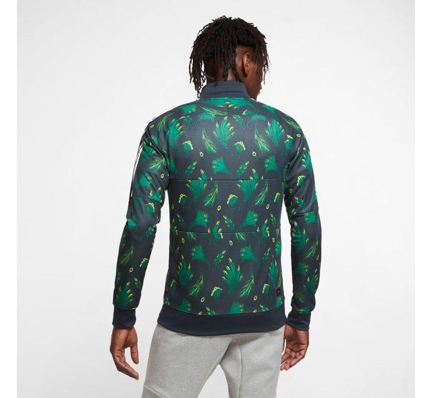 Nigeria Anthem Track Jacket Green/black