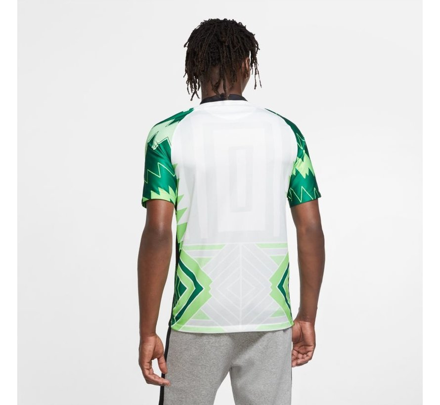Nigeria Home Jersey White/Green