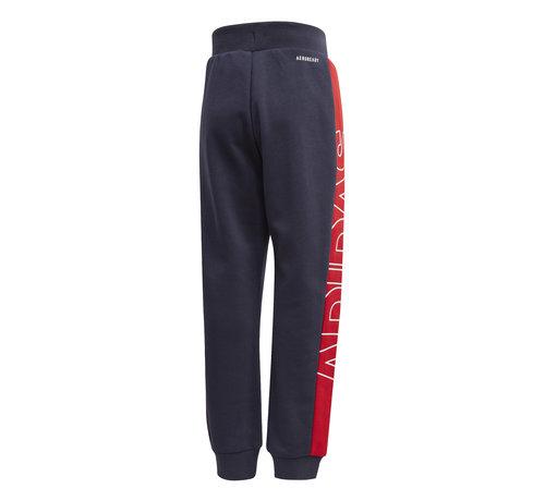 Adidas Knit Pant Navy/Red Kids