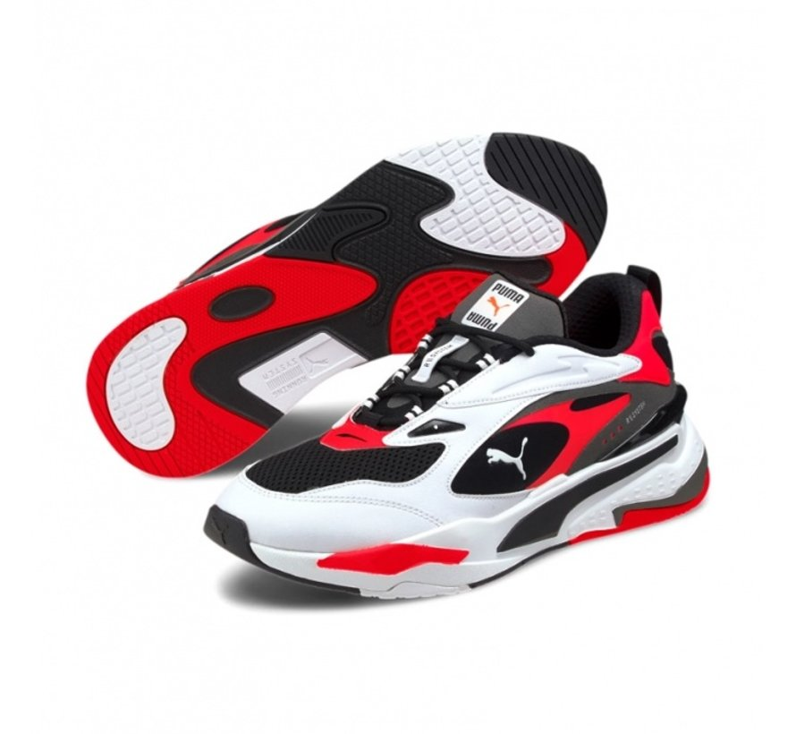 Rs-Fast Black-white-red
