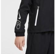 Nike CR7 Wvn Suit Jr Black-white