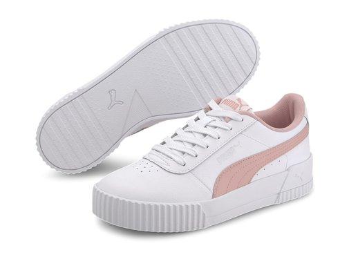 Puma Carina L Jr White-peach