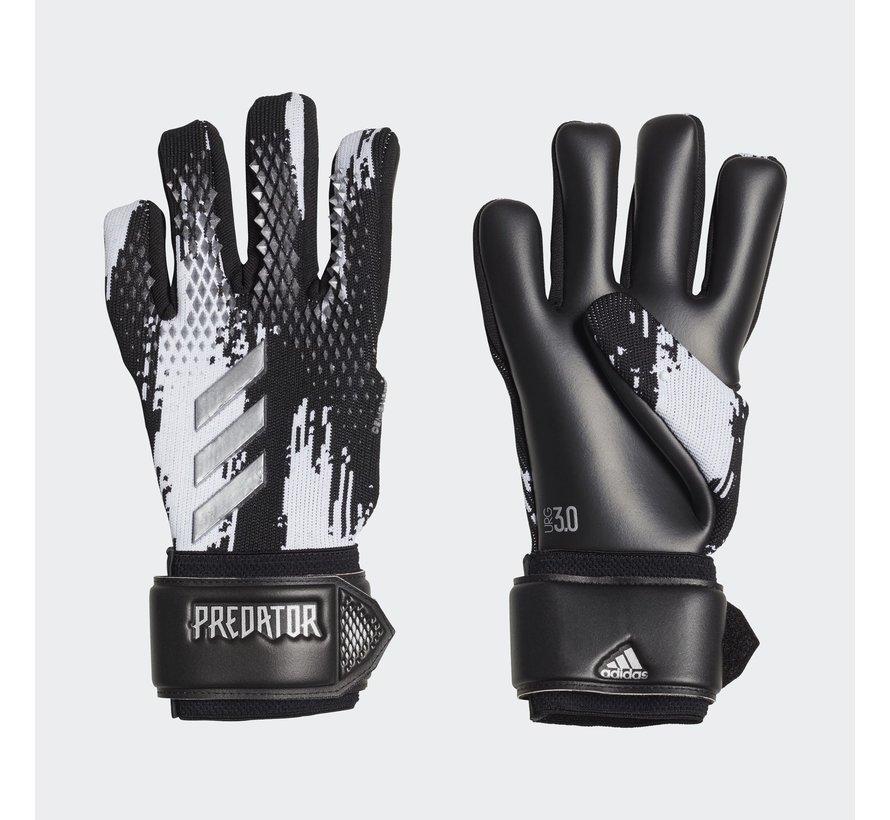 Predator Gloves League Black/White