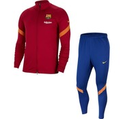 Nike Barcelona Strike Track Suit Red 20/21