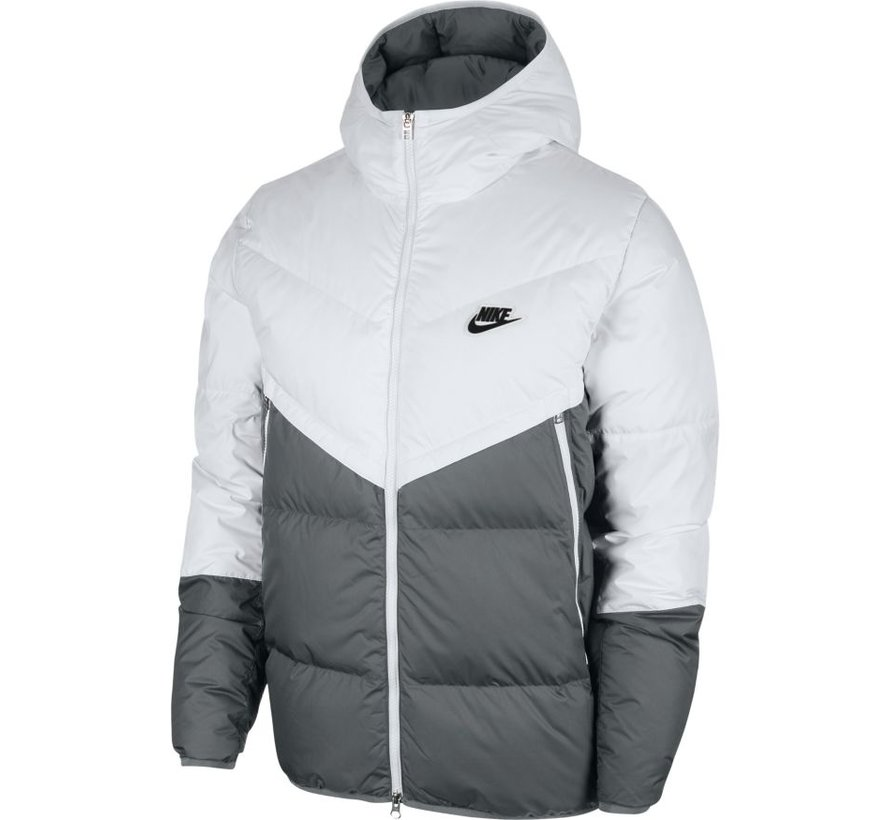 NSW Down Filled Jacket White