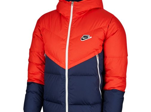 Nike NSW Down Filled Jacket Red/Navy