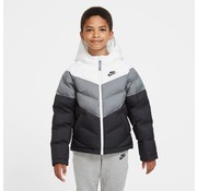 Nike NSW TF Synthetic Jacket White/Grey Kids