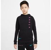 Nike Barcelona Fleece Hood Jr Noir 20/21
