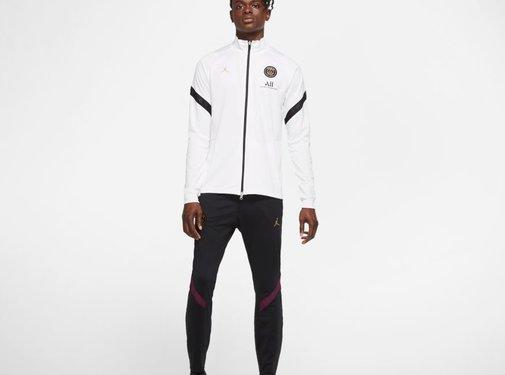 Nike PSG TrkSuit Blanc-noir 20/21