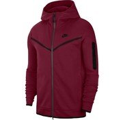 Nike Tech Fleece Hoodie Darkred