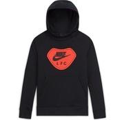 Nike Liverpool Fleece Hoodie Black 20/21 Kids