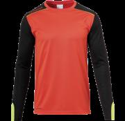 Uhlsport Tower Goalkeeper Shirt Orange/Black/Yellow