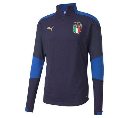 Puma Italia 1/4 Zip Top Navy Euro21 Kids