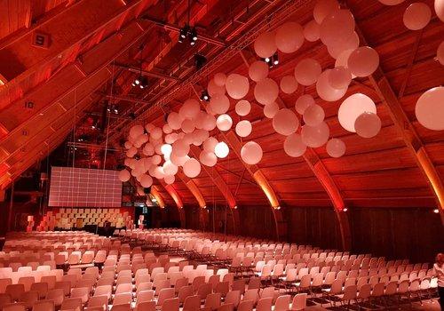 Reuze ballonnen decoratie