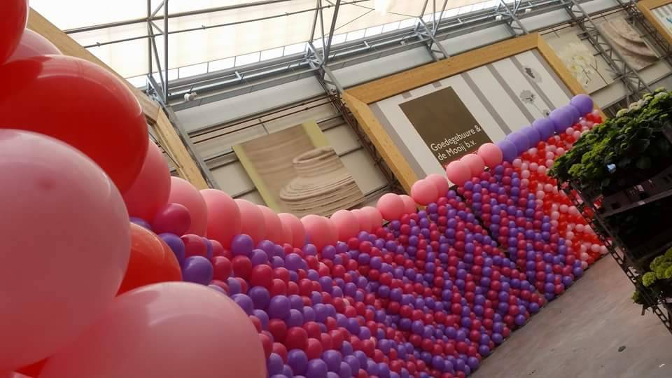 Ballonnenpilaar XL (3 meteR)