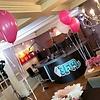 Tafeldecoratie 3 helium ballonnen