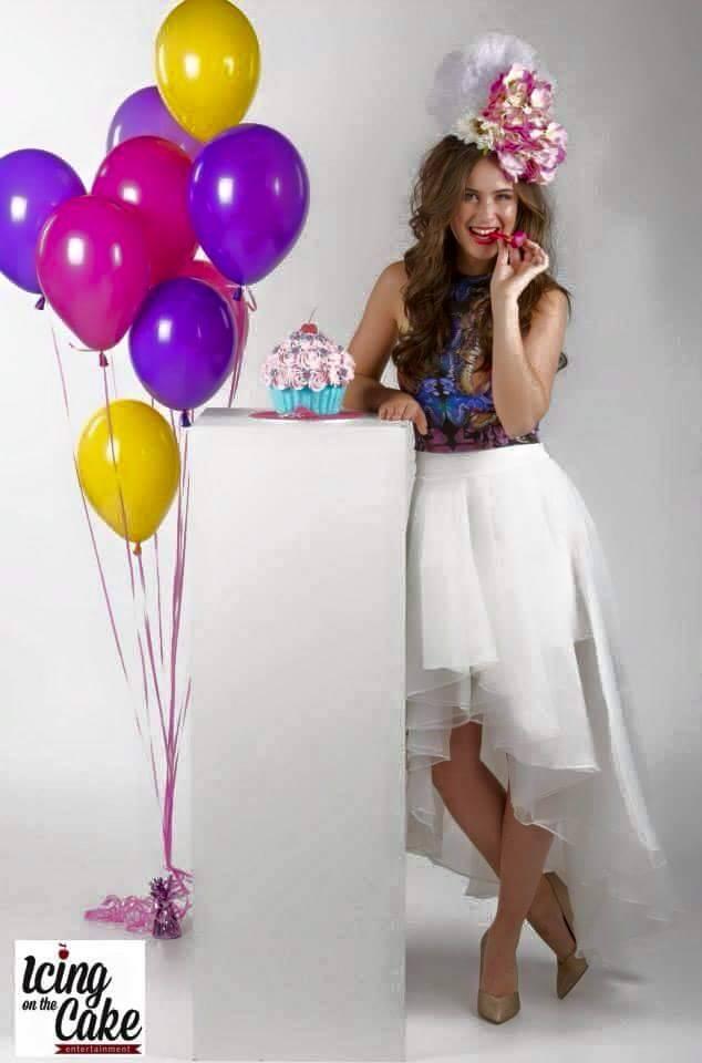 Tafeldecoratie 10 helium ballonnen