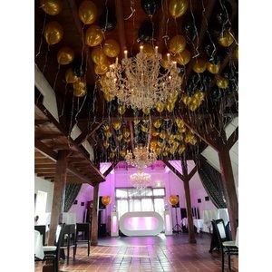 100 helium ballonnen - Ballonnenplafond