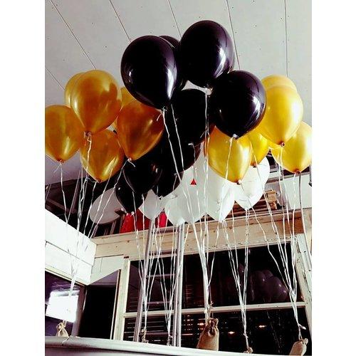 Tafeldecoratie 7 ballonnen