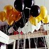 vloerdecoratie 3 helium ballonnen