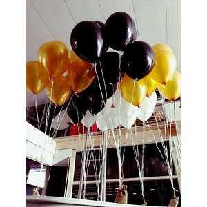 Vloerdecoratie 3 ballonnen