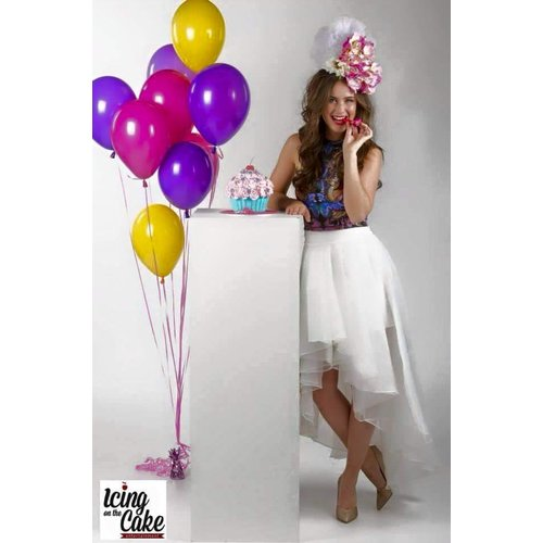 Ballonnendeal Vloerdecoratie 10 helium ballonnen