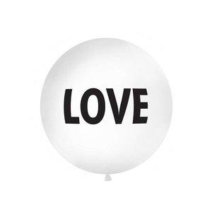 PartyDeco LOVE - reuzeballon