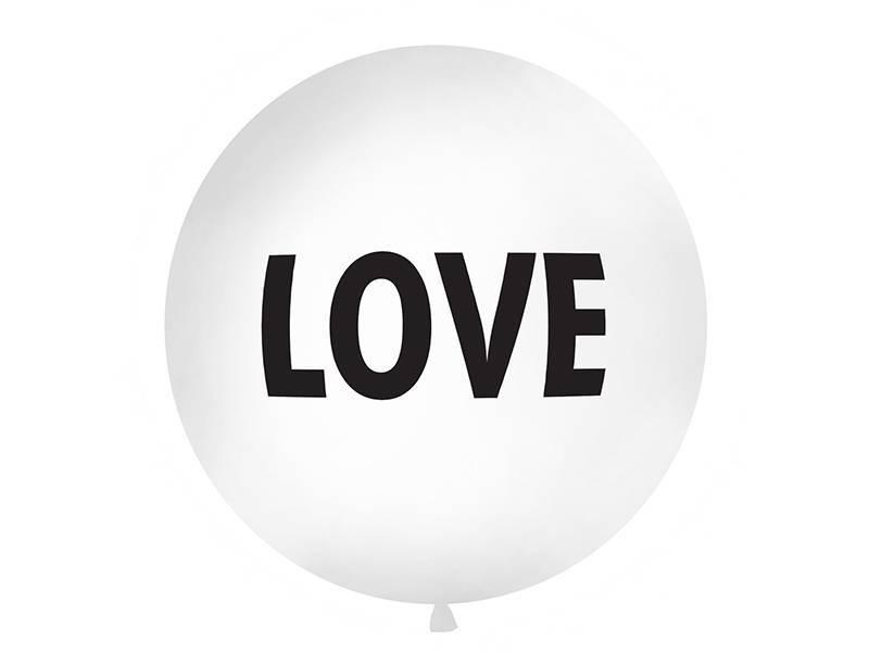 Reuzeballon LOVE - 1 meter