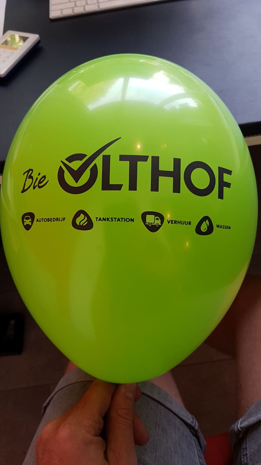 Bedrukte ballonnen met logo 250