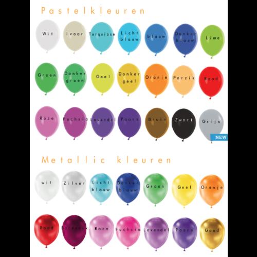 Ballonnendeal Bedrukte ballonnen met logo 500 stuks