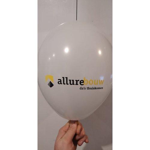 Ballonnendeal Bedrukte ballonnen met logo 100 stuks