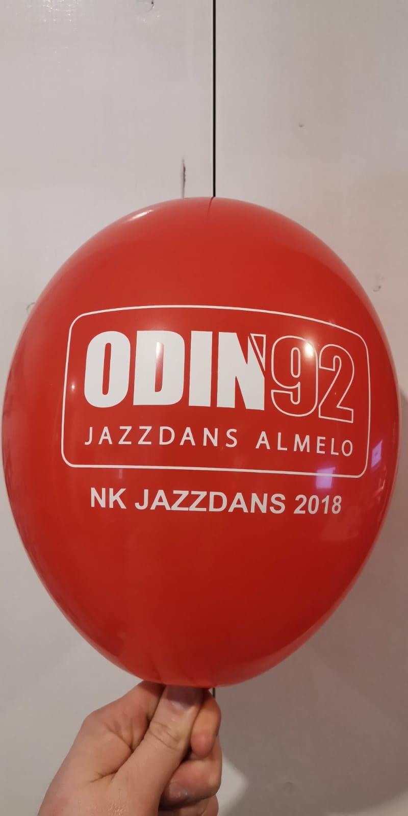 Bedrukte ballonnen met logo 100 stuks