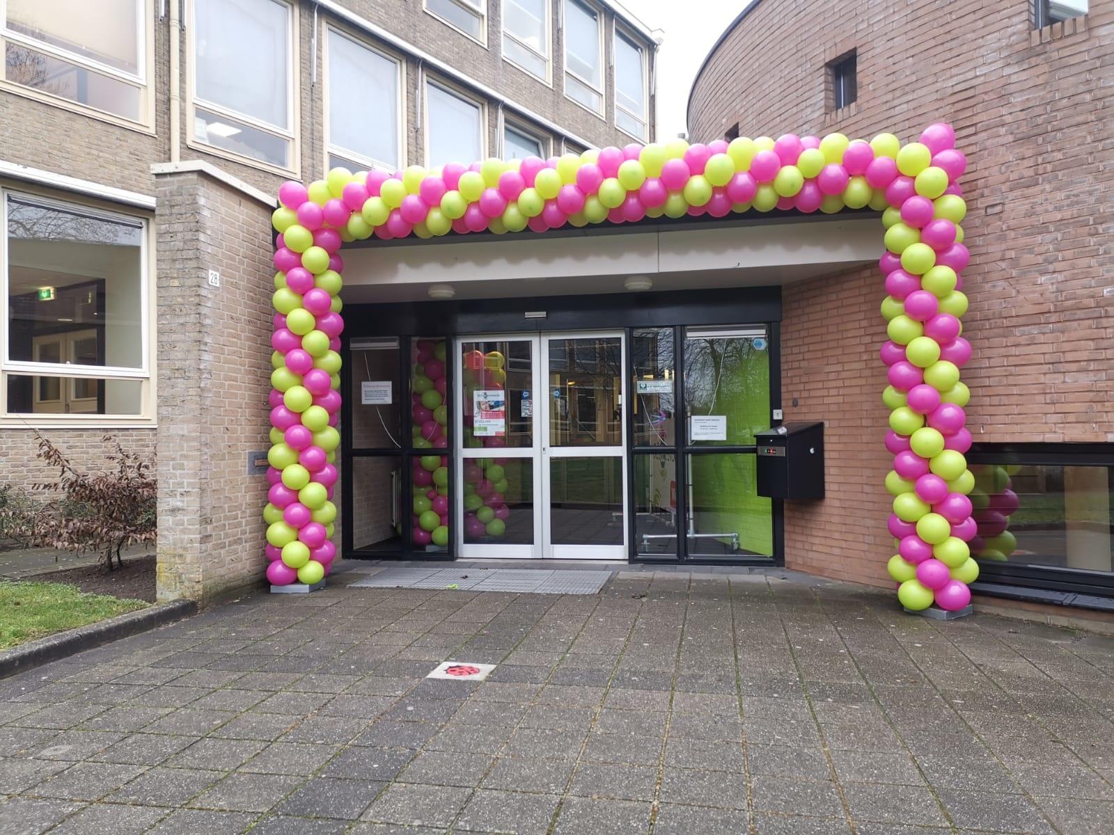 Ballonnenboog vierkant