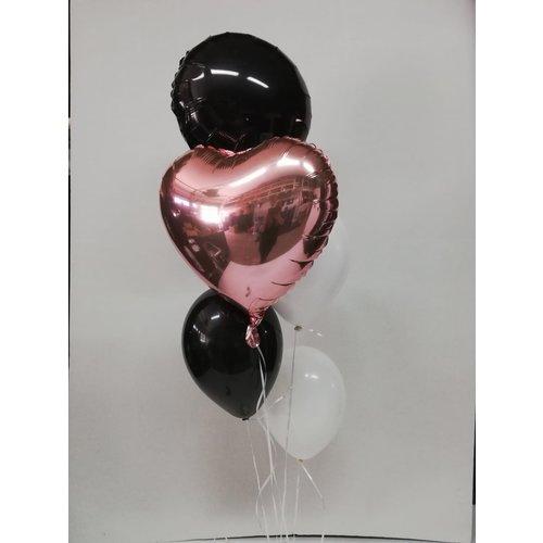 Ballonnendeal Ballonnentros mix 5 ballonnen