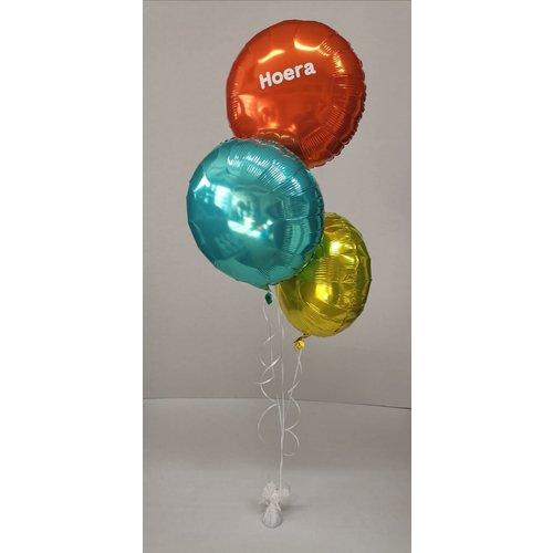 Ballonnendeal Ballonnentros Moederdag - 3 ballonnen