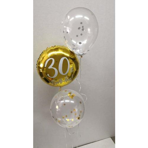 Ballonnendeal Ballonnentros Birthday confetti