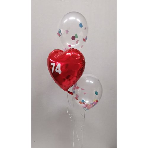 Ballonnendeal Ballonnentros Birthday - Alle leeftijden