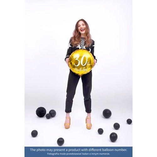 PartyDeco Heliumballon 18th birthday | 18 jaar