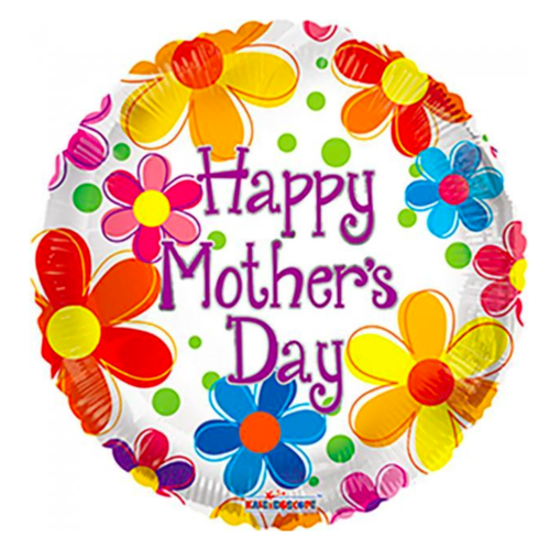 Globos Folieballon - Happy Mother's day - 45 cm