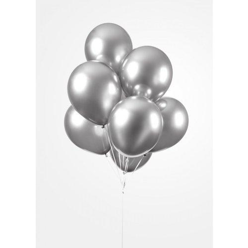 Ballonnendeal Chrome heliumballon 30 cm