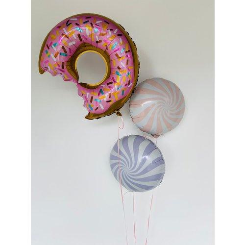 Vloerdecoratie Donut - Swirl