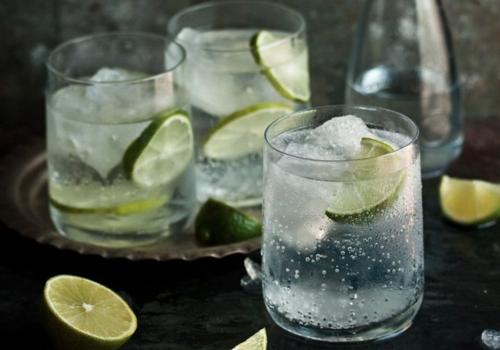Wodka Lime Cocktail