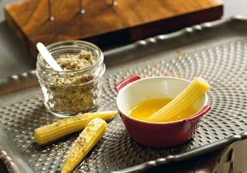 Baby maïs recept