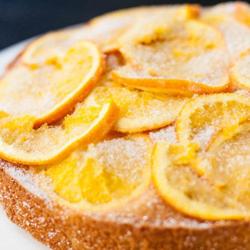 Sinaasappel cake