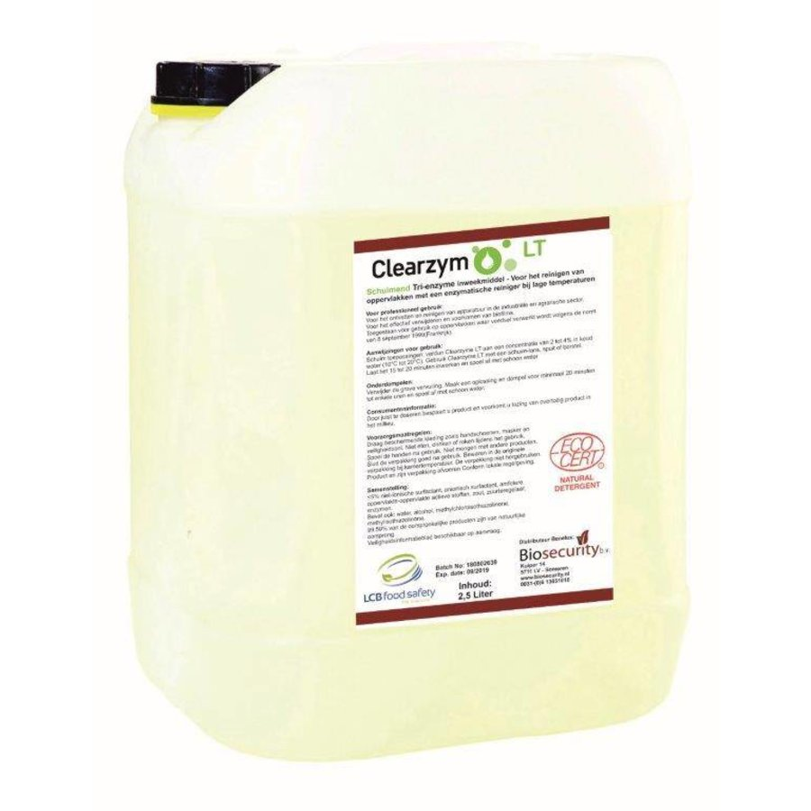 Clearzym 2,5 Liter - Enzymatic cleaniner-1