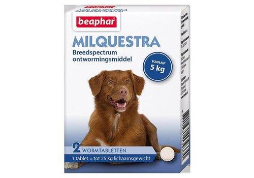 Beaphar Milquestra Dog 5+kg - 2 Tablets