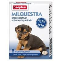 Milquestra pup/kleine hond 0,5-10kg (2 tabletten)