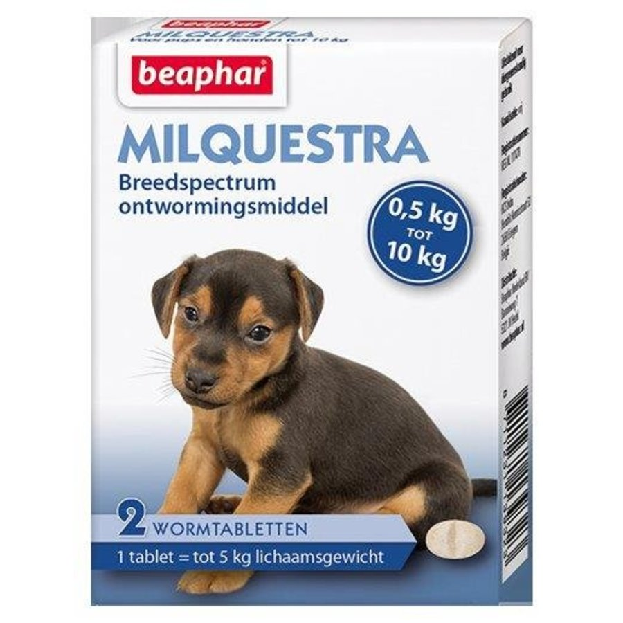 Milquestra pup/small dog 0,5-10kg (2 tablets)-1